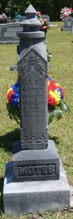 MOTES, J EDWARD - Lamar County, Alabama | J EDWARD MOTES - Alabama Gravestone Photos
