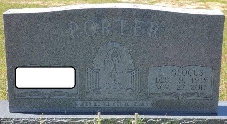 PORTER, L GLOCUS - Lamar County, Alabama | L GLOCUS PORTER - Alabama Gravestone Photos