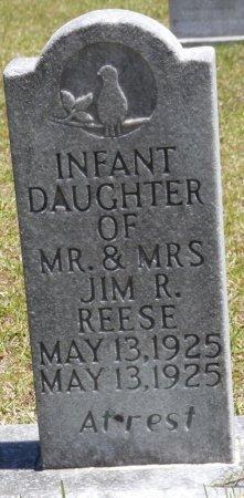 REESE, INFANT DAUGHTER - Lamar County, Alabama   INFANT DAUGHTER REESE - Alabama Gravestone Photos