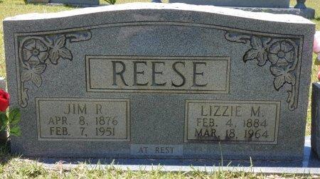 MOTES REESE, LIZZIE - Lamar County, Alabama | LIZZIE MOTES REESE - Alabama Gravestone Photos