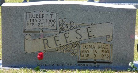 REESE, ROBERT T - Lamar County, Alabama | ROBERT T REESE - Alabama Gravestone Photos