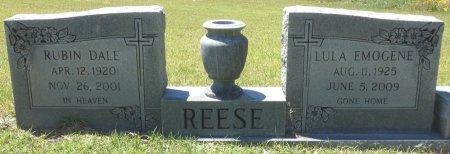 REESE, LULA EMOGENE - Lamar County, Alabama | LULA EMOGENE REESE - Alabama Gravestone Photos