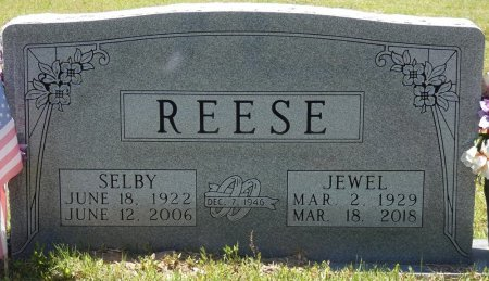 REESE, JEWELL DEAN - Lamar County, Alabama | JEWELL DEAN REESE - Alabama Gravestone Photos