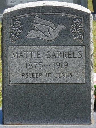 "HANEY SARRELS, MARTHA LEONORA ""MATTIE"" - Lamar County, Alabama | MARTHA LEONORA ""MATTIE"" HANEY SARRELS - Alabama Gravestone Photos"
