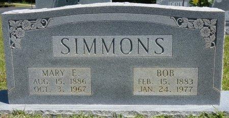 SIMMONS, MARY E - Lamar County, Alabama | MARY E SIMMONS - Alabama Gravestone Photos