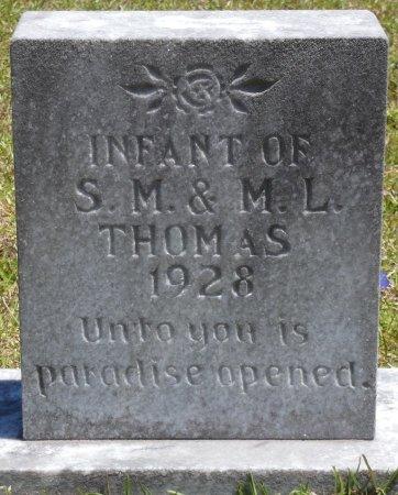 THOMAS, INFANT - Lamar County, Alabama | INFANT THOMAS - Alabama Gravestone Photos