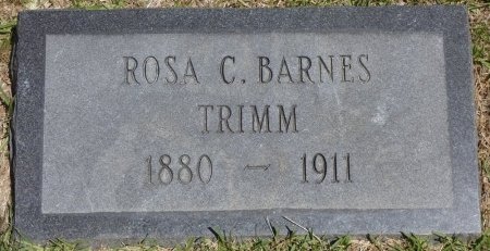 BARNES TRIMM, ROSA C - Lamar County, Alabama | ROSA C BARNES TRIMM - Alabama Gravestone Photos