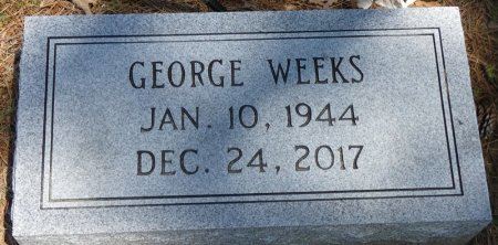 WEEKS, GEORGE - Lamar County, Alabama | GEORGE WEEKS - Alabama Gravestone Photos
