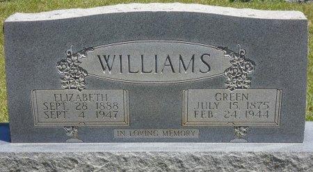 WILLIAMS, ELIZABETH - Lamar County, Alabama | ELIZABETH WILLIAMS - Alabama Gravestone Photos
