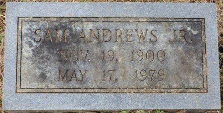 ANDREWS, JR, SAM - Lauderdale County, Alabama   SAM ANDREWS, JR - Alabama Gravestone Photos