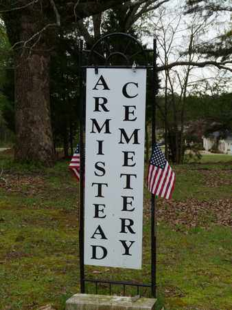 *ARMISTEAD CEMETERY SIGN,  - Lauderdale County, Alabama |  *ARMISTEAD CEMETERY SIGN - Alabama Gravestone Photos