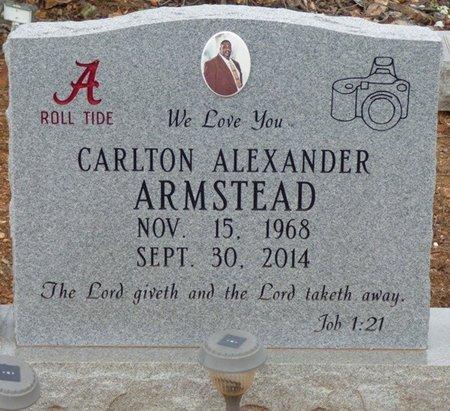 ARMSTEAD, CARLTON ALEXANDER - Lauderdale County, Alabama   CARLTON ALEXANDER ARMSTEAD - Alabama Gravestone Photos