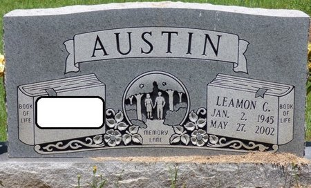AUSTIN, LEAMON C - Lauderdale County, Alabama | LEAMON C AUSTIN - Alabama Gravestone Photos