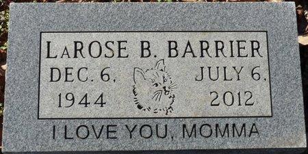 BARRIER, LAROSE - Lauderdale County, Alabama | LAROSE BARRIER - Alabama Gravestone Photos