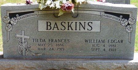 BASKINS, TILDA FRANCES - Lauderdale County, Alabama | TILDA FRANCES BASKINS - Alabama Gravestone Photos
