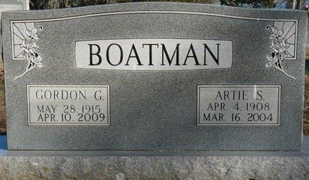 BOATMAN, GORDON GRANVILLE - Lauderdale County, Alabama | GORDON GRANVILLE BOATMAN - Alabama Gravestone Photos