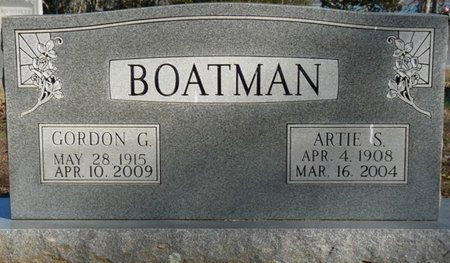SCOTT BOATMAN, ARTIE MARIE - Lauderdale County, Alabama | ARTIE MARIE SCOTT BOATMAN - Alabama Gravestone Photos