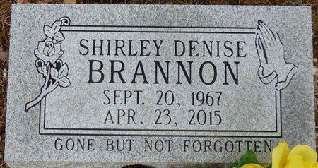 BRANNON, SHIRLEY DENISE - Lauderdale County, Alabama | SHIRLEY DENISE BRANNON - Alabama Gravestone Photos
