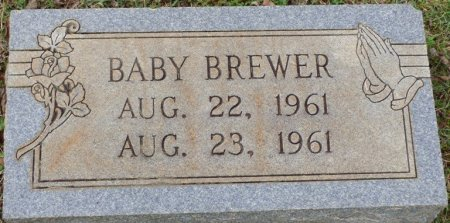 BREWER, BABY - Lauderdale County, Alabama | BABY BREWER - Alabama Gravestone Photos