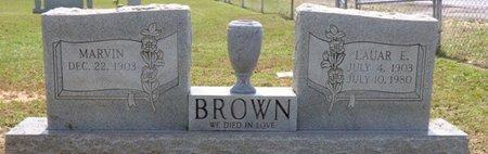 BROWN, LAURA E - Lauderdale County, Alabama | LAURA E BROWN - Alabama Gravestone Photos