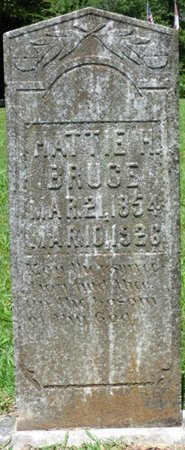 "BRUCE, HARRIET CAROLINE ""HATTIE"" - Lauderdale County, Alabama 