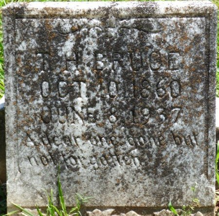 BRUCE, T.H. - Lauderdale County, Alabama | T.H. BRUCE - Alabama Gravestone Photos
