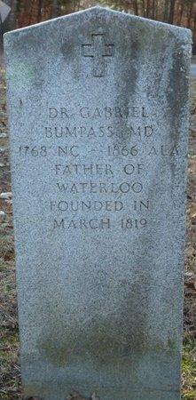 BUMPASS M.D., DR. GABRIEL - Lauderdale County, Alabama | DR. GABRIEL BUMPASS M.D. - Alabama Gravestone Photos