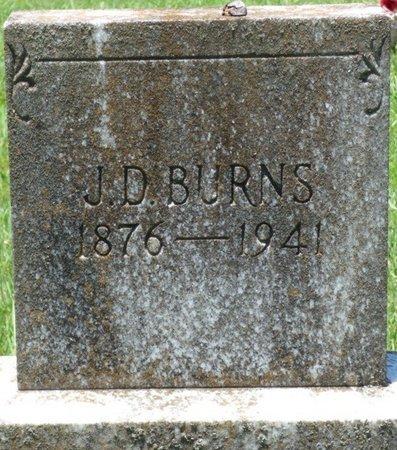 BURNS, J.D. - Lauderdale County, Alabama | J.D. BURNS - Alabama Gravestone Photos