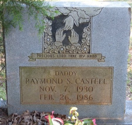 CASTEEL, RAYMOND S - Lauderdale County, Alabama | RAYMOND S CASTEEL - Alabama Gravestone Photos