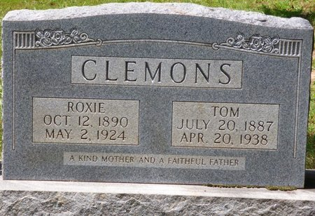 SMITH CLEMONS, ROXIE BELLE - Lauderdale County, Alabama | ROXIE BELLE SMITH CLEMONS - Alabama Gravestone Photos