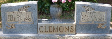 CLEMONS, BETTY EDITH - Lauderdale County, Alabama | BETTY EDITH CLEMONS - Alabama Gravestone Photos