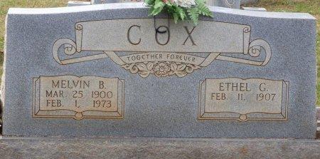 COX, MELVIN B - Lauderdale County, Alabama   MELVIN B COX - Alabama Gravestone Photos