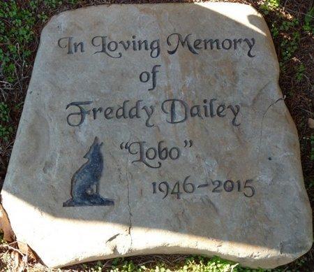 """DAILEY, FREDDY """"LOBO"""" - Lauderdale County, Alabama   FREDDY """"LOBO"""" DAILEY - Alabama Gravestone Photos"""