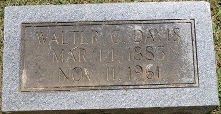 DAVIS, WALTER C - Lauderdale County, Alabama | WALTER C DAVIS - Alabama Gravestone Photos