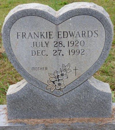 EDWARDS, FRANKIE - Lauderdale County, Alabama | FRANKIE EDWARDS - Alabama Gravestone Photos