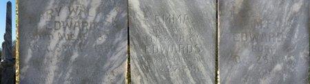 EDWARDS, EMMA - Lauderdale County, Alabama | EMMA EDWARDS - Alabama Gravestone Photos