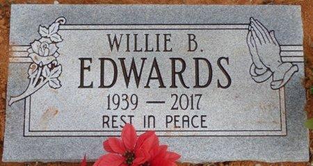 EDWARDS, WILLIE B - Lauderdale County, Alabama | WILLIE B EDWARDS - Alabama Gravestone Photos