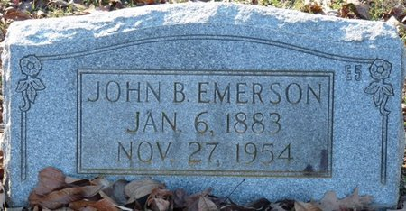 EMERSON, JOHN B - Lauderdale County, Alabama | JOHN B EMERSON - Alabama Gravestone Photos