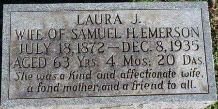 EMERSON, LAURA JANE - Lauderdale County, Alabama | LAURA JANE EMERSON - Alabama Gravestone Photos