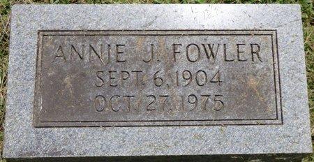 FOWLER, ANNIE J - Lauderdale County, Alabama | ANNIE J FOWLER - Alabama Gravestone Photos