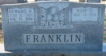 FRANKLIN, DEWARD H - Lauderdale County, Alabama | DEWARD H FRANKLIN - Alabama Gravestone Photos
