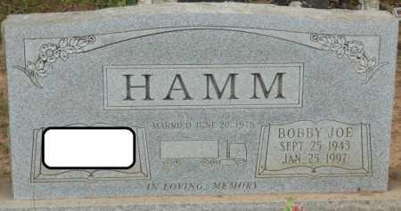 HAMM, BOBBY JOE - Lauderdale County, Alabama | BOBBY JOE HAMM - Alabama Gravestone Photos
