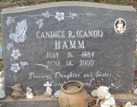 "HAMM, CANDICE R ""CANDI"" - Lauderdale County, Alabama   CANDICE R ""CANDI"" HAMM - Alabama Gravestone Photos"