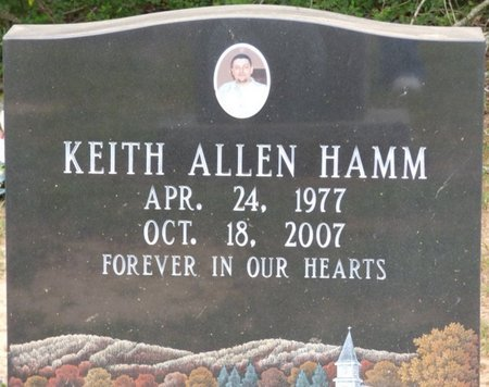 HAMM, KEITH ALLEN - Lauderdale County, Alabama | KEITH ALLEN HAMM - Alabama Gravestone Photos