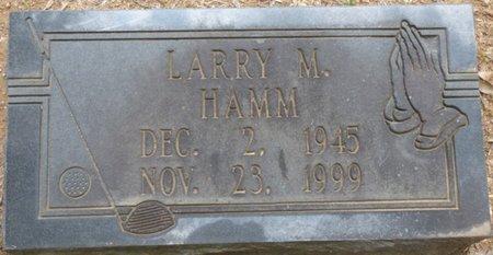 HAMM, LARRY M - Lauderdale County, Alabama   LARRY M HAMM - Alabama Gravestone Photos