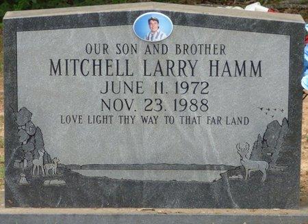 HAMM, MITCHELL LARRY - Lauderdale County, Alabama   MITCHELL LARRY HAMM - Alabama Gravestone Photos