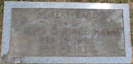 HAMM, ROBERT EARL - Lauderdale County, Alabama | ROBERT EARL HAMM - Alabama Gravestone Photos