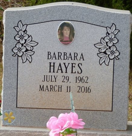 HAYES, BARBARA FAYE - Lauderdale County, Alabama | BARBARA FAYE HAYES - Alabama Gravestone Photos