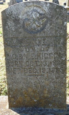 HIGGINS, CLARENCE W - Lauderdale County, Alabama | CLARENCE W HIGGINS - Alabama Gravestone Photos
