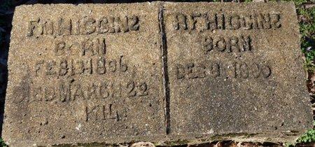 HIGGINS, R.F. - Lauderdale County, Alabama | R.F. HIGGINS - Alabama Gravestone Photos